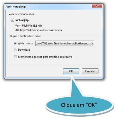 Manual de Acesso APP VirtualClass 7